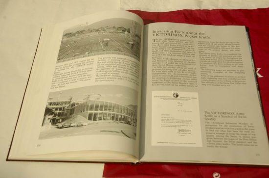 "Buku Ulangtahun 100 tahun Victorinox -- ""The Knife and its history"""