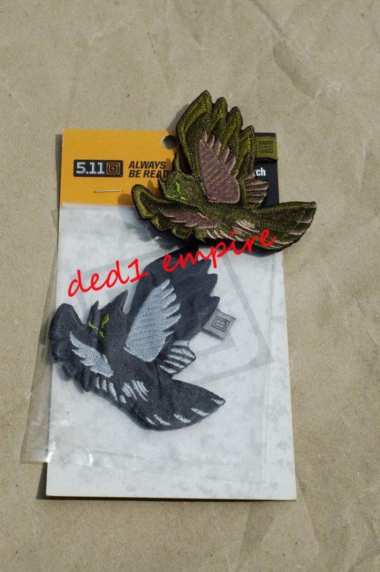 lencana burung hantu 5.11