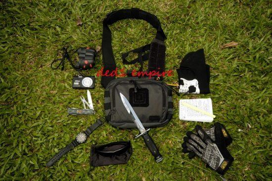 5.11 - beg silang taktikal 2 BANGER  (gred tentera)