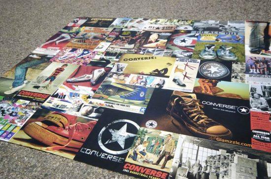Poster pelbagai kasut CONVERSE