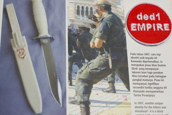 GLOCK - pisau taktikal / memburu 81 (AUSTRIA)