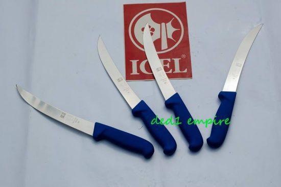 1) Jenis: pisau daging bengkok Icel