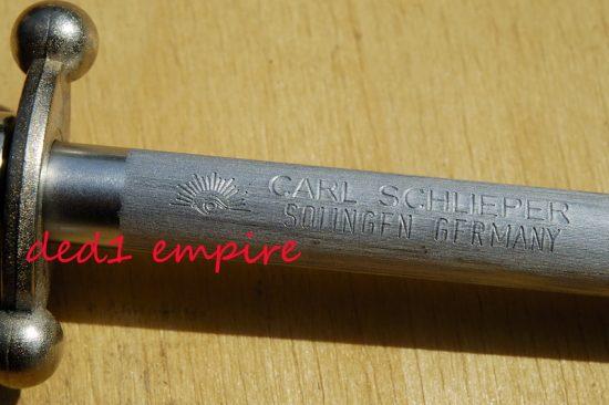 """Carl Schlieper - Pengasah """"CAP MATA"""" (STOK LAMA)"""