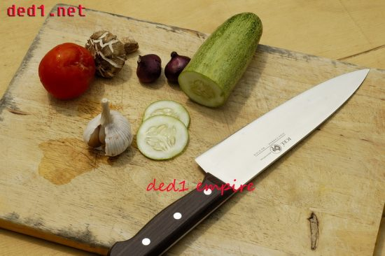 ICEL - Pisau dapur / chef 7 inci HULU KAYU