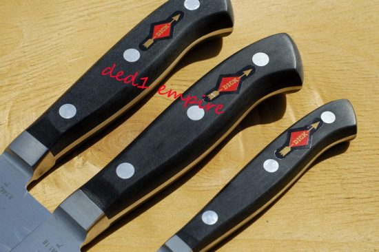F.DICK - Set pisau dapur tempa Eurasia (JERMAN)