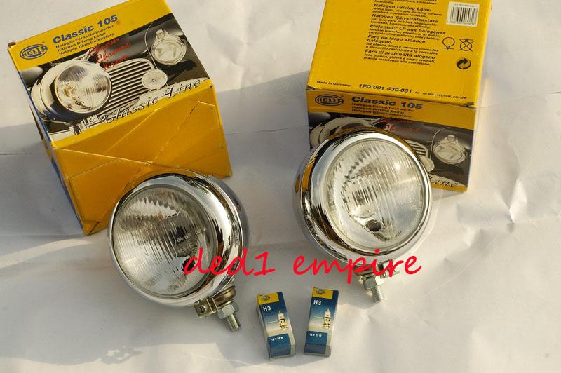 HELLA - lampu kabus spotlight Classic 105 (JERMAN)
