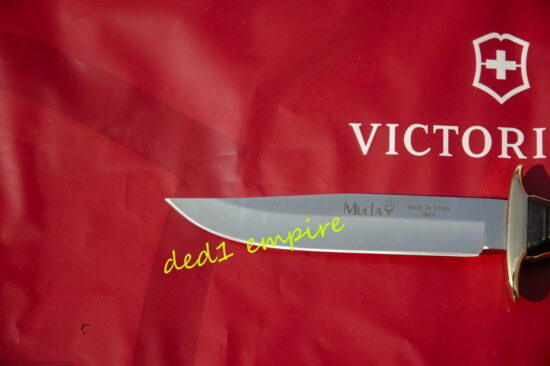 MUELA x Victorinox - pisau memburu lasak (saiz KECIL)