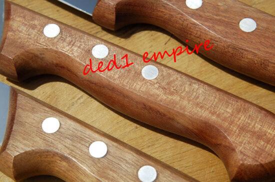 F.DICK - Set pisau daging/sembelih HULU KAYU (JERMAN)