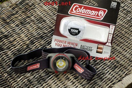 COLEMAN - Lampu suluh kepala /headlamp