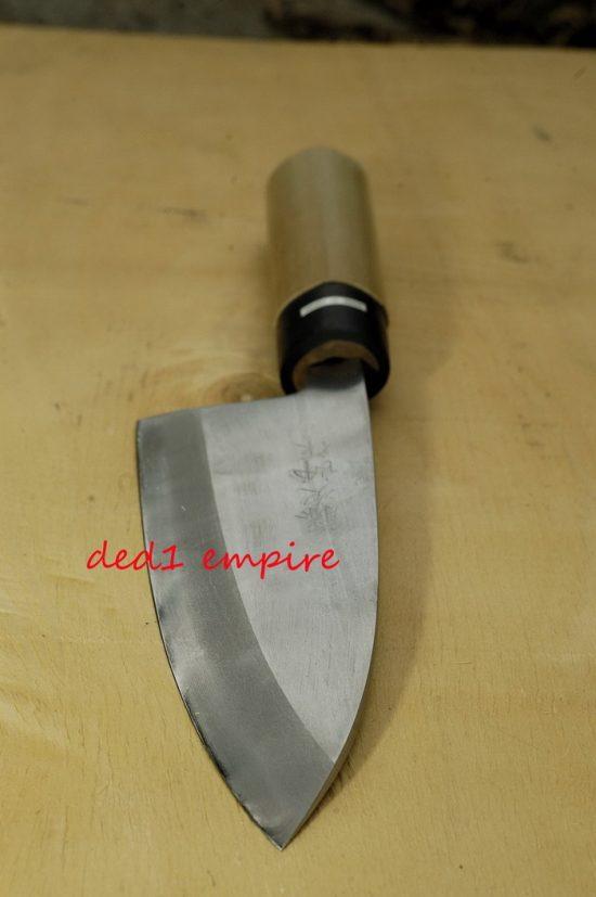 """TOJIRO - pisau dapur """"Deba"""" 18cm (JEPUN)"""
