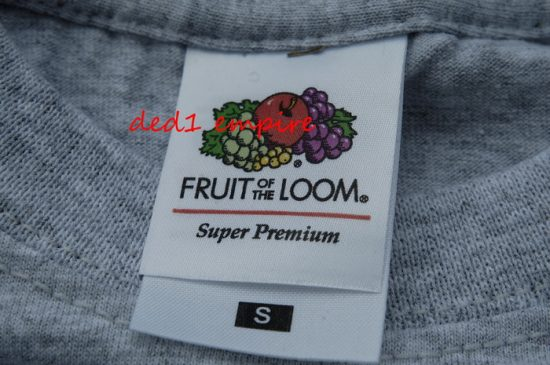 FRUIT OF THE LOOM - baju tshirt Super Premium (USA)
