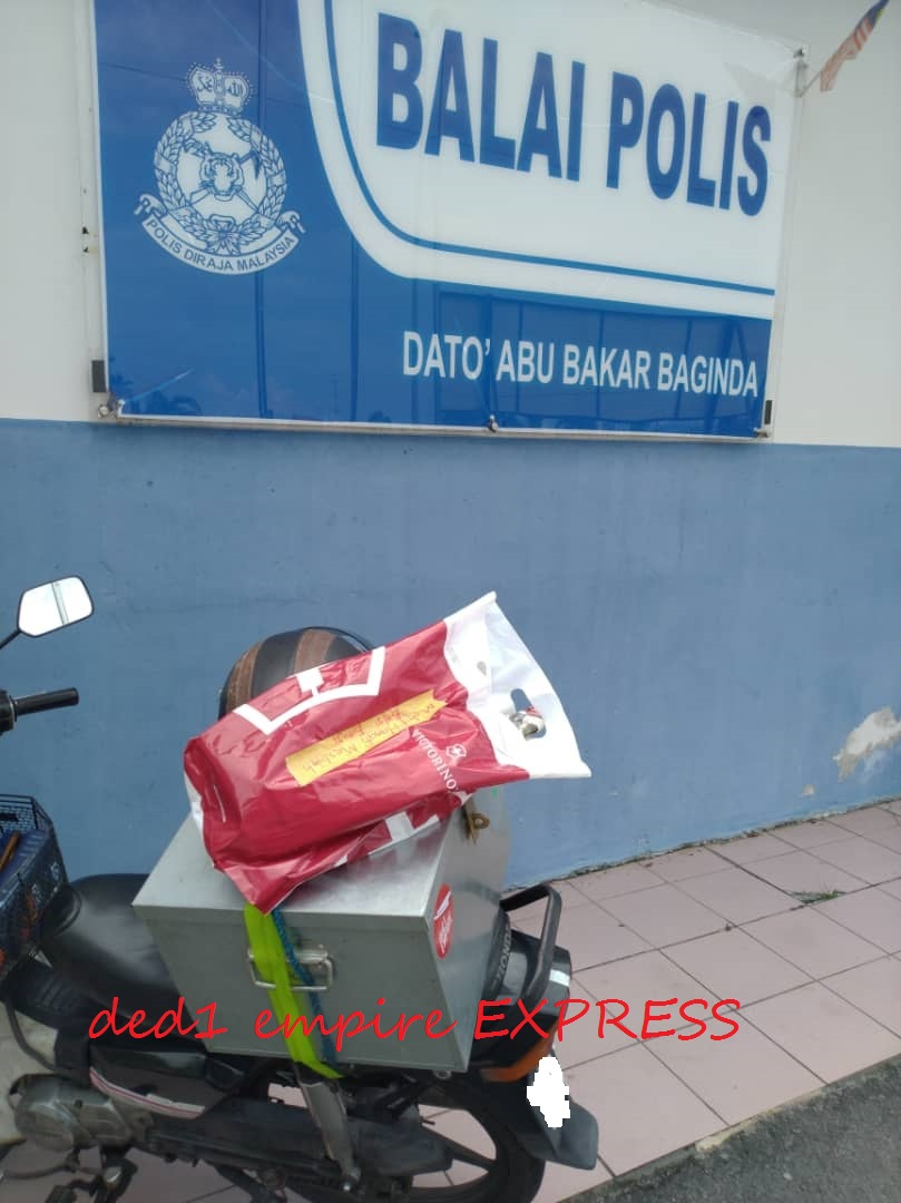 pelanggan ded1 empire EXPRESS di Balai Polis Bangi