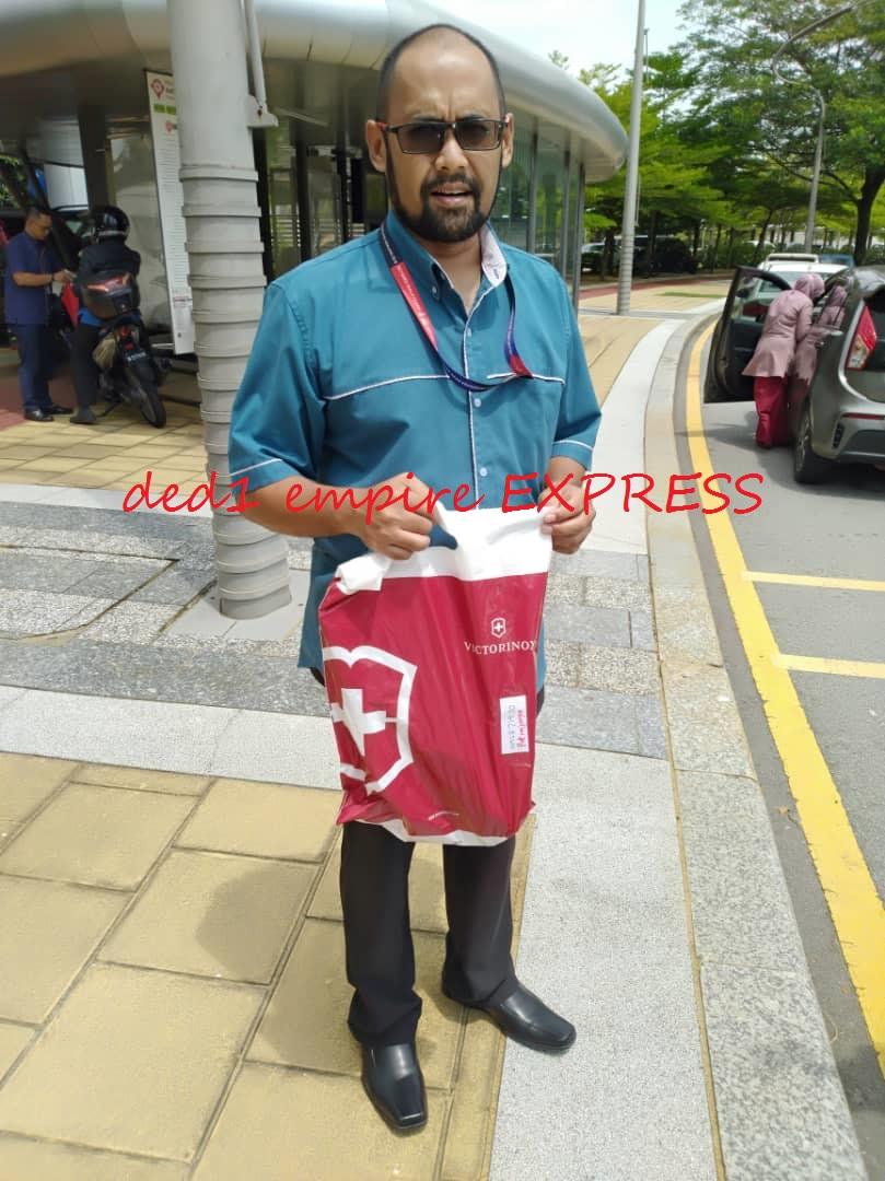 pelanggan ded1 empire EXPRESS di Putrajaya