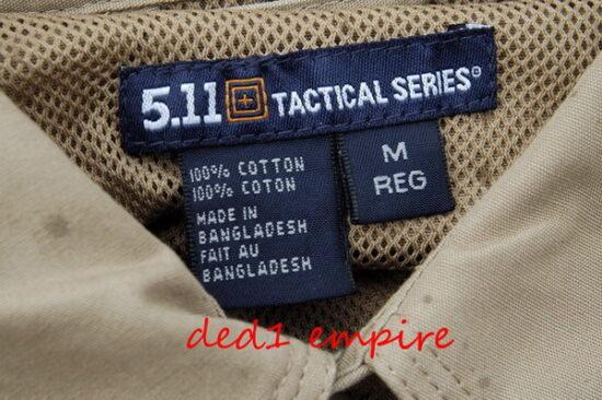 5.11 - baju kemeja taktikal