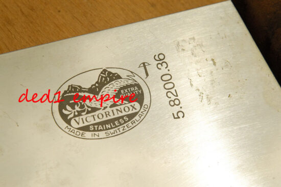 VICTORINOX - pisau sembelih 14 inci CAP PAYUNG (VERSI LAMA)