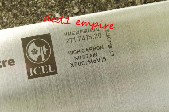 ICEL - pisau dapur TEMPA 7 inci (PORTUGAL)