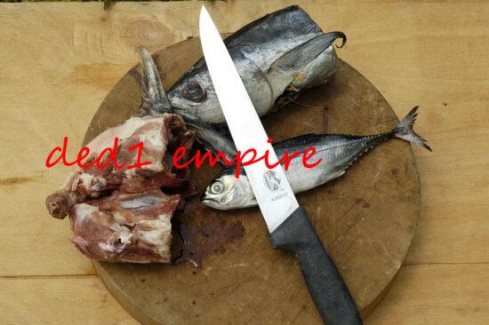 VICTORINOX - pisau daging/sembelih 8 inci CAP PAYUNG (VERSI LAMA)