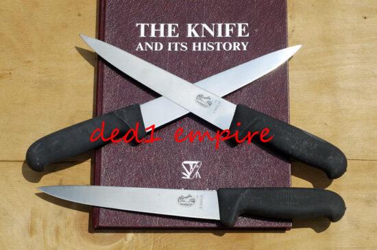VICTORINOX - pisau daging/sembelih 7 inci CAP PAYUNG (VERSI LAMA)