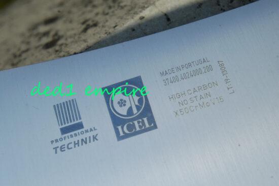 ICEL - pisau tetak 890gram LENGKUNG (PORTUGAL)