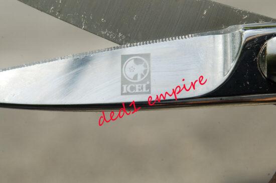 ICEL - gunting ikan/dapur TEMPA
